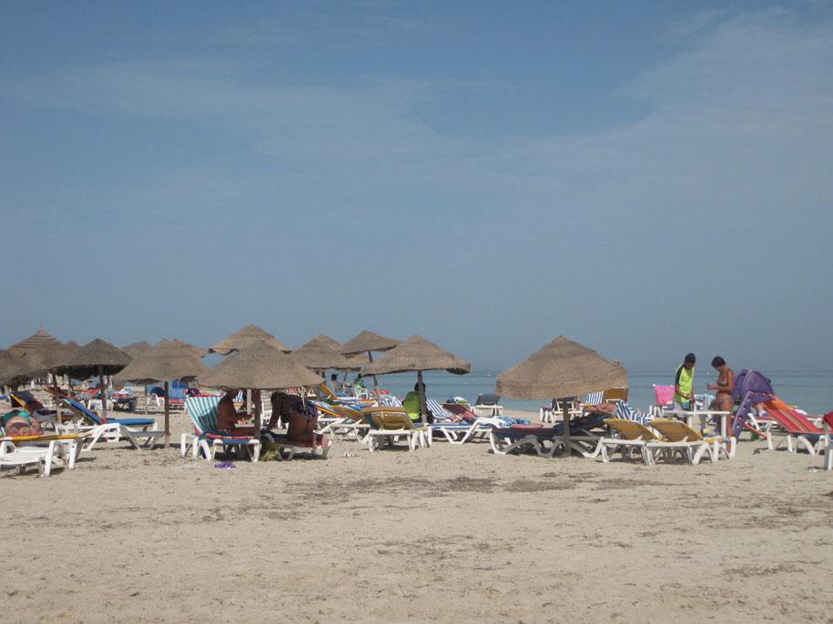 Песчаные пляжи Джербы
