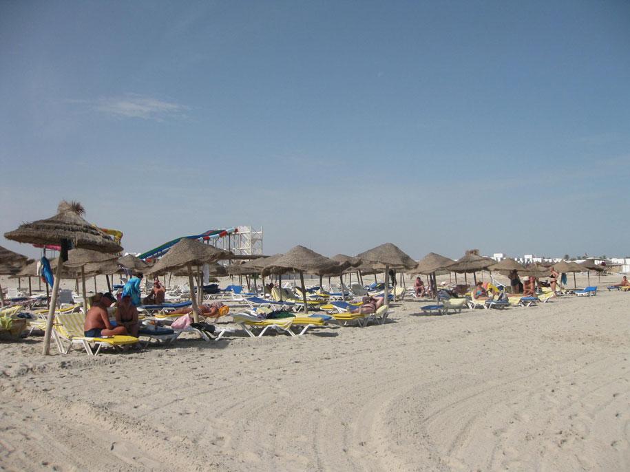 Песчаные пляжи острова Джерба
