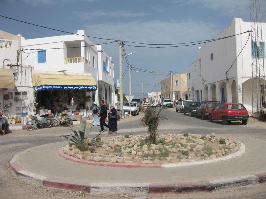 Достопримечательности острова Джерба - деревня Эр-Риад