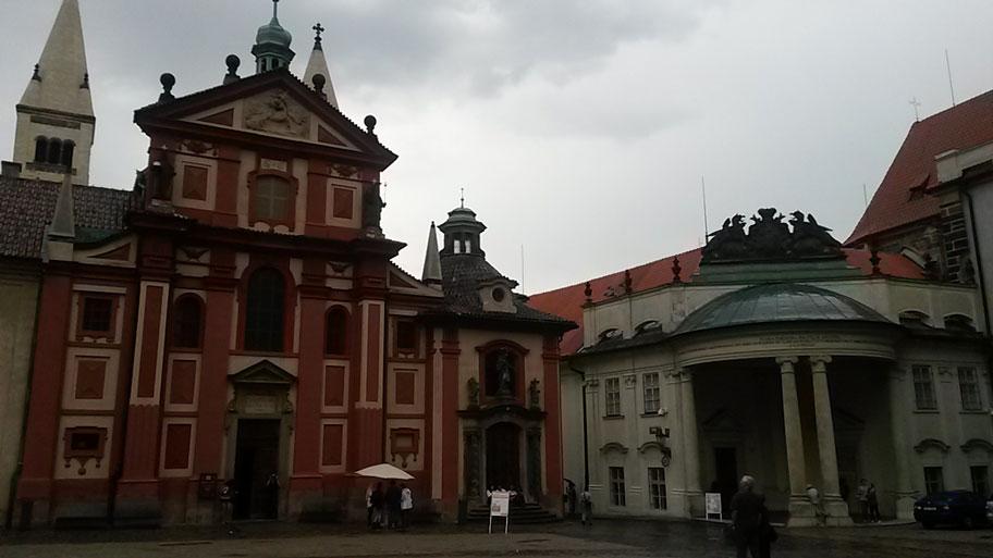 Георгиевский монастырь в Пражском Граде