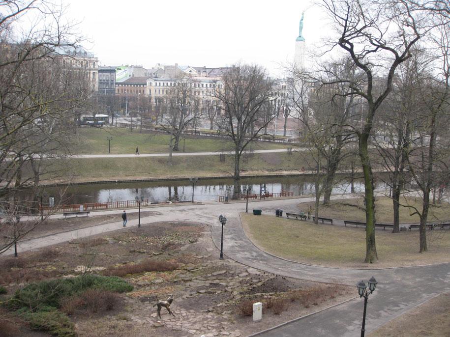 парк Бастионная горка, Рига
