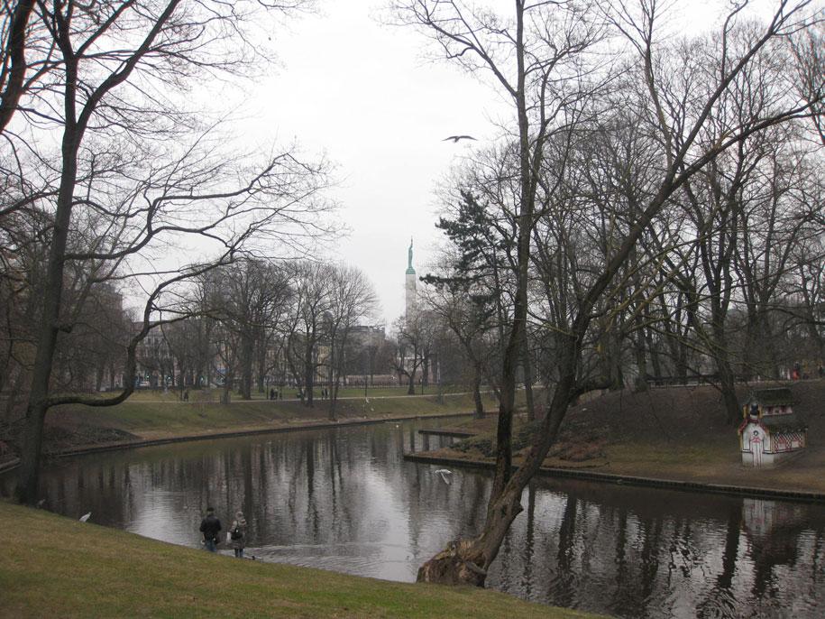 городской канал, Рига