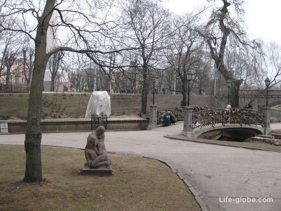 парк Бастейкалнс, Рига