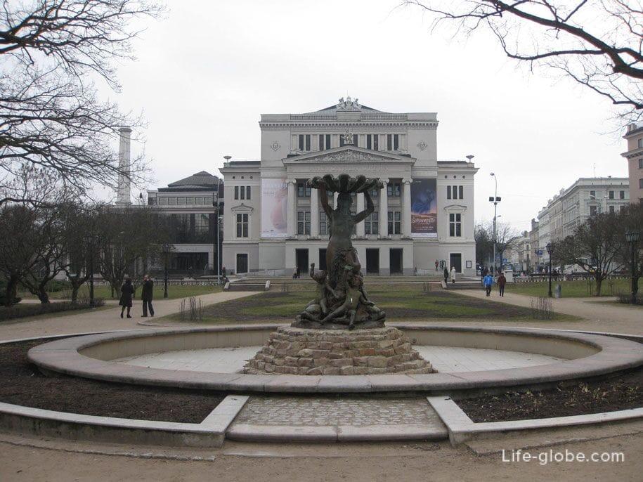 Латвийская национальная опера, Рига