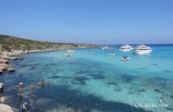 Голубая лагуна, Акамас, Кипр (Blue Lagoon)