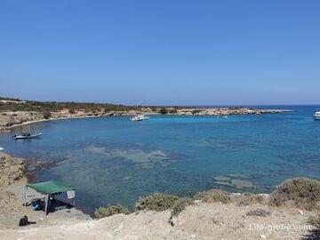Залив Фонтана Амороза, Акамас, Кипр (Fontana Amorosa)