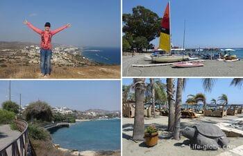 Agios Tychonas, Limassol, Cyprus. The beaches of Agios Tychonas