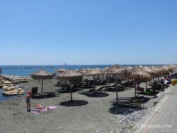 Пляж Кастелла, Лимассол (Castella Beach)