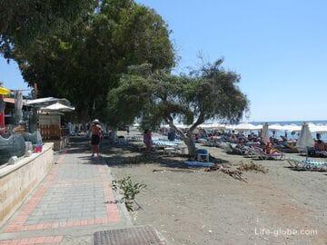Пляж Дасуди, Лимассол (Dasoudi Beach)