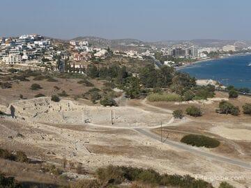 Аматус, Лимассол, Кипр (Amathus) - руины древнего Аматуса