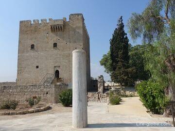 Замок Колосси, Кипр (Kolossi Castle) - наследие рыцарей средневековья