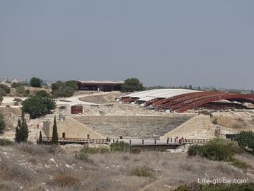 Kourion, Cyprus - the ruins of the ancient city