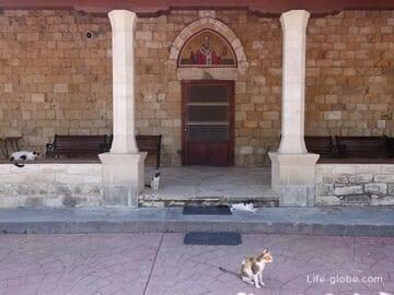 Кошачий монастырь, Кипр  (Монастырь святого Николая / Agios Nikolaos ton Gaton Monastery)