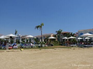 Пляж Лимассол Марина (Limassol Marina Beach) - самый пафосный пляж Лимасола