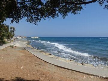 Пляж Лурес, Лимассол (Loures Beach)