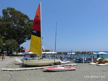 Onisilos Beach, Limassol, Cyprus