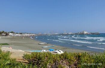 Parekklisia, Limassol (Pareklisia). Beaches of Parekklisia