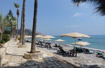 Пляж Писсури, Кипр (Pissouri Bay Beach) - курорт в районе Лимассол