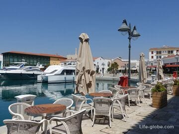 Port of Limassol - Limassol Marina, the old port, the cruise port and the marina of San Rafael