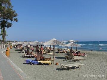 Santa Barbara Beach, Limassol (Agia Barbara Municipal Beach)