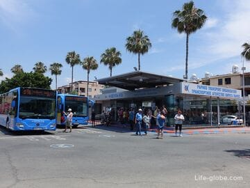 How to get from Paphos airport to the center (from the center of Paphos to the airport)