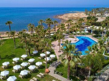 Hotels in Paphos with the beach (center of Paphos, area of Geroskipou and Coral Bay)