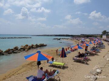 Laourou beach, Cyprus (Coral bay)