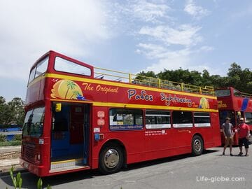 Экскурсионные автобусы в Пафосе