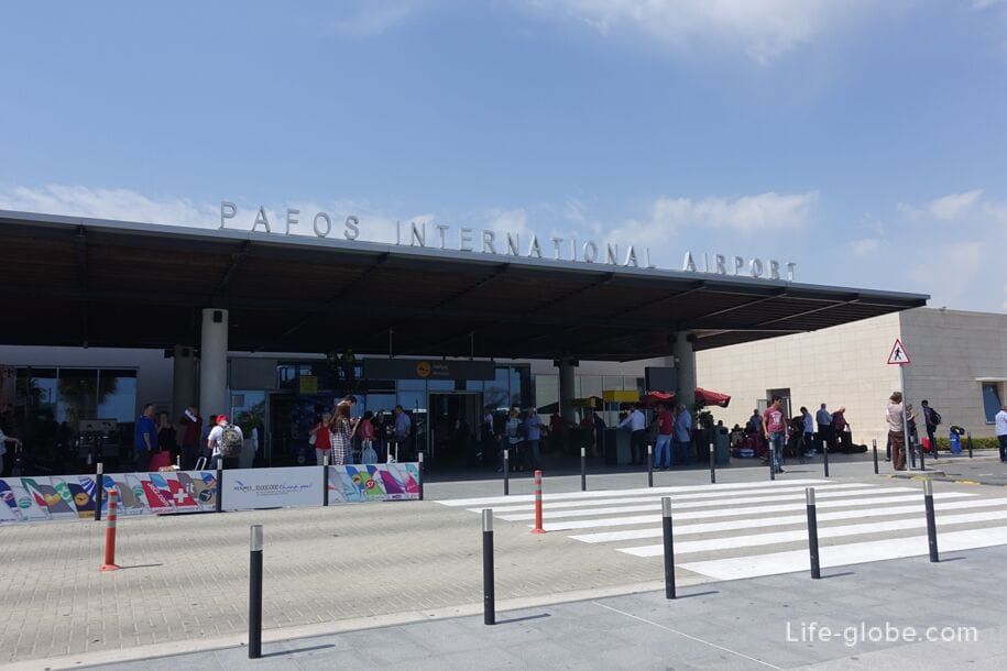 Center From How airport Paphos Limassol And To City Get