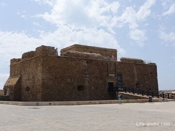 Paphos Castle is a medieval fort of Paphos
