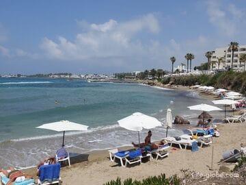 Пляж Врисудия В, Пафос (Vrysoudia B Beach)