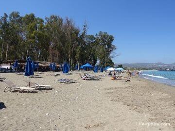 Пляж Кемпинг (пляж Дасуди), Полис, Кипр (Camping Site / Dasoudi Beach)