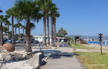 Лачи, Полис, Кипр (Latchi). Пляжи Лачи