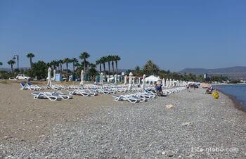 Муниципальный пляж Полис Хрисохус, Кипр (Polis Chrysochous Municipal Beach)