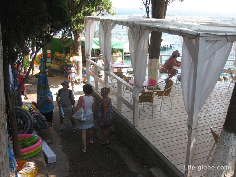 Спуск к пляжам, Алупка, Крым