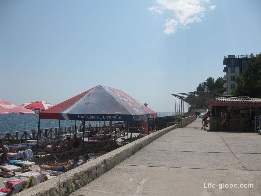 Набережная в Алупке, Крым