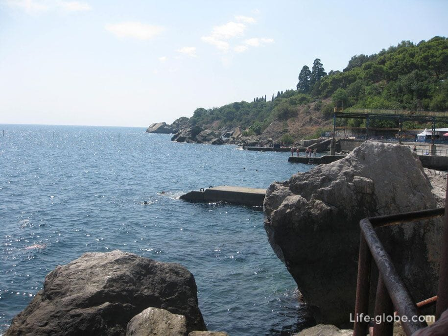 Море в Алупке, Крым