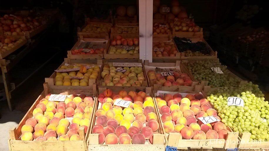 Цены в Крыму, фрукты