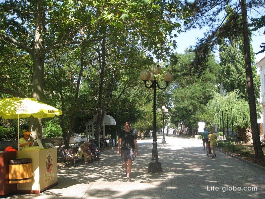 Улица Дувановская, Евпатория, Крым