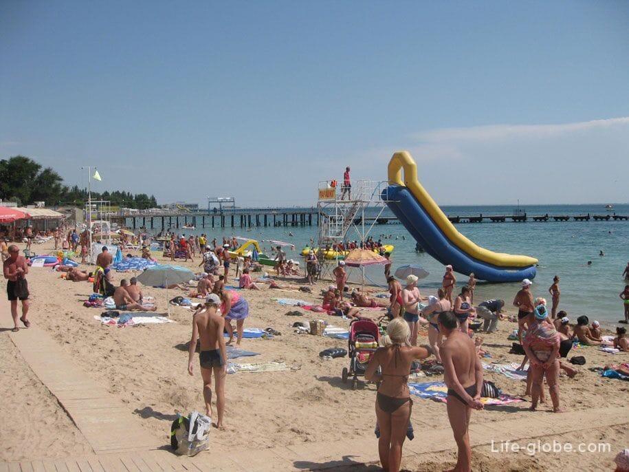Пляжи Крыма - пляжи в Евпатории