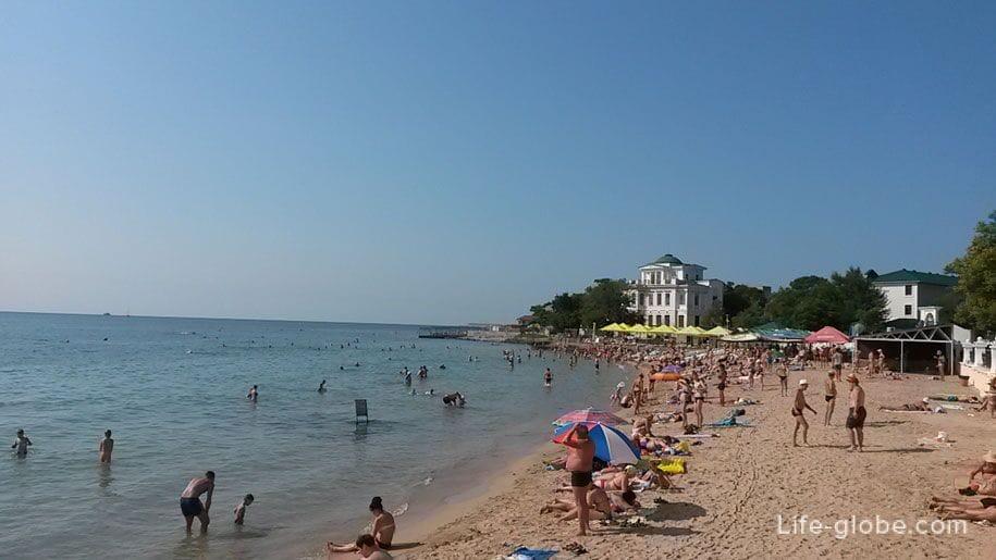 Пляжи Крыма - пляжи Евпатории