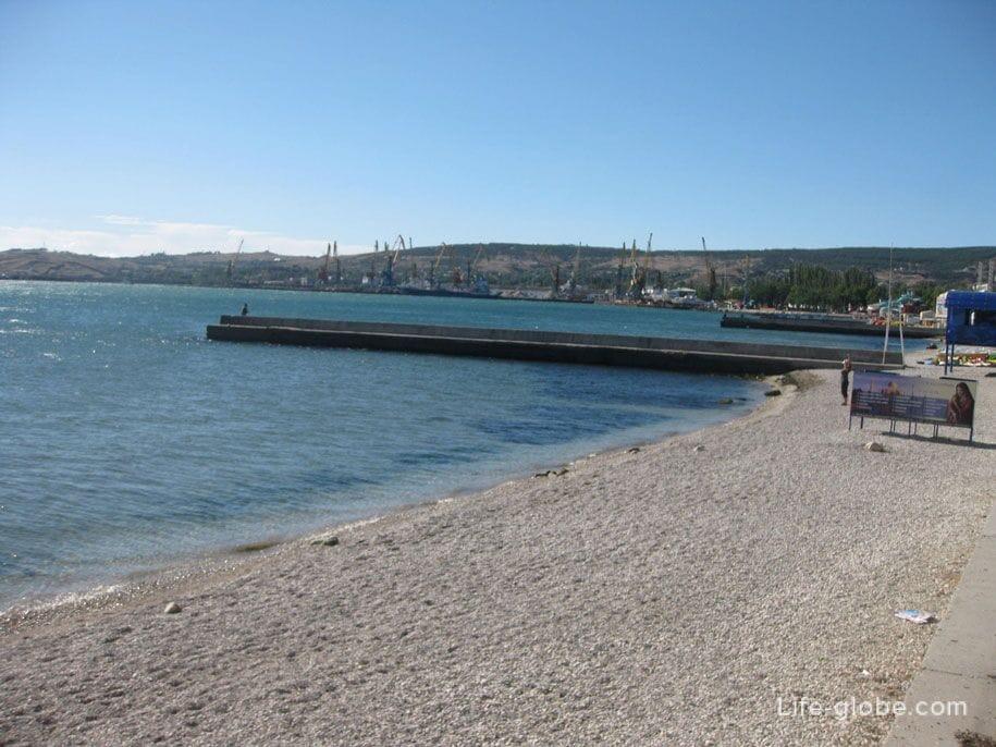 Центральные пляжи Феодосии