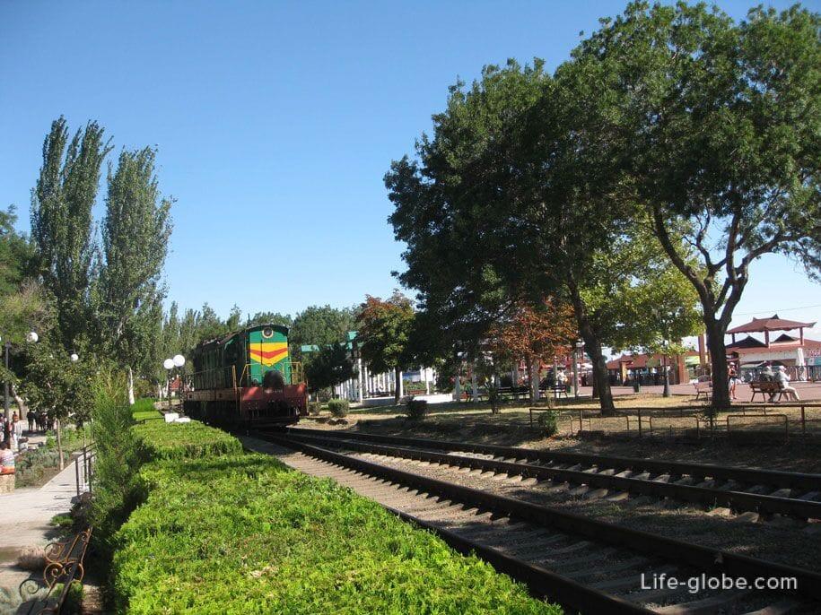 Железная дорога в Феодосии