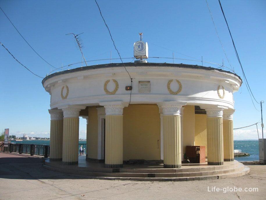 Набережная Десантников в Феодосии, Крым