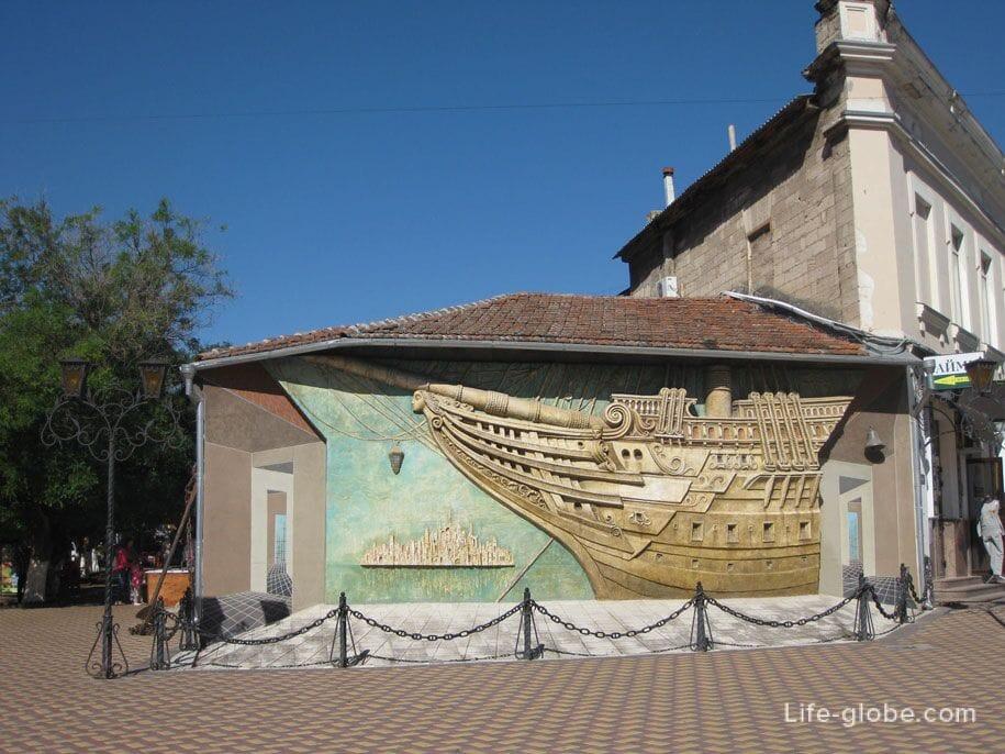 Дом-музей Александра Грина, Феодосия, Крым
