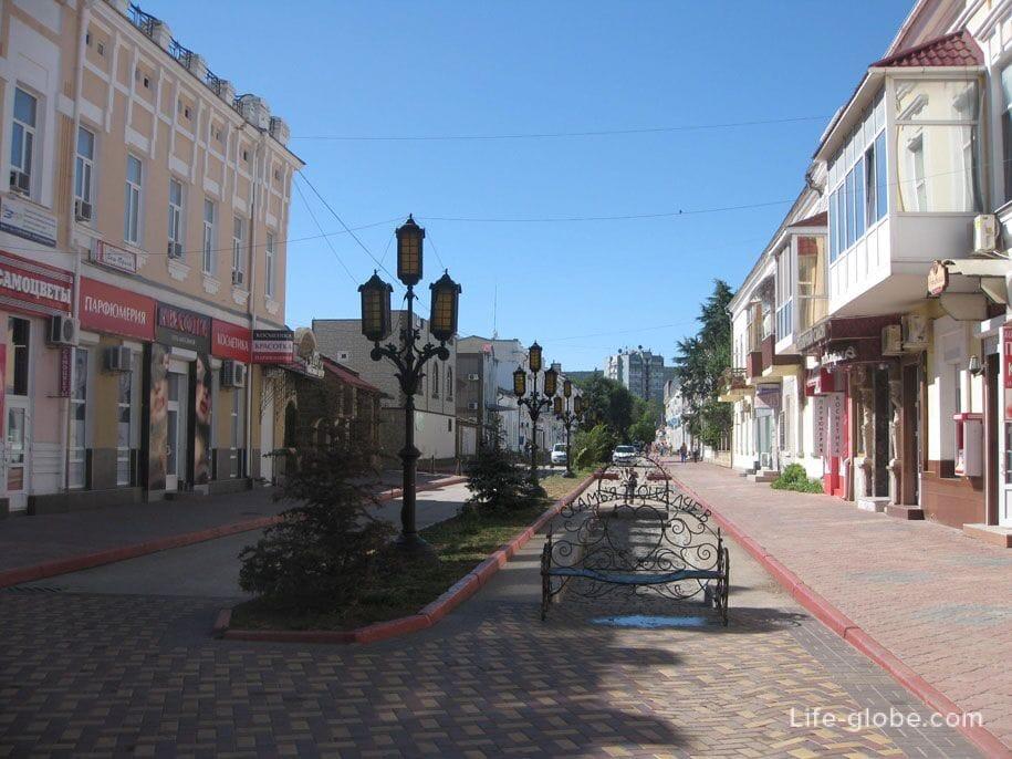 Скамья поцелуев, Феодосия, Крым