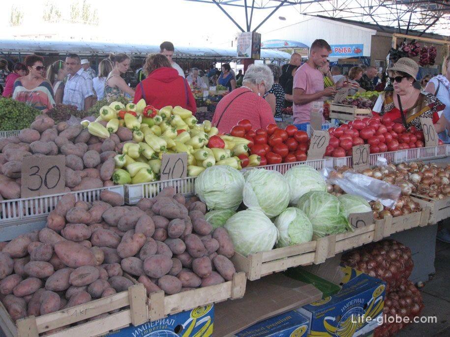 Цены в Крыму на овощи