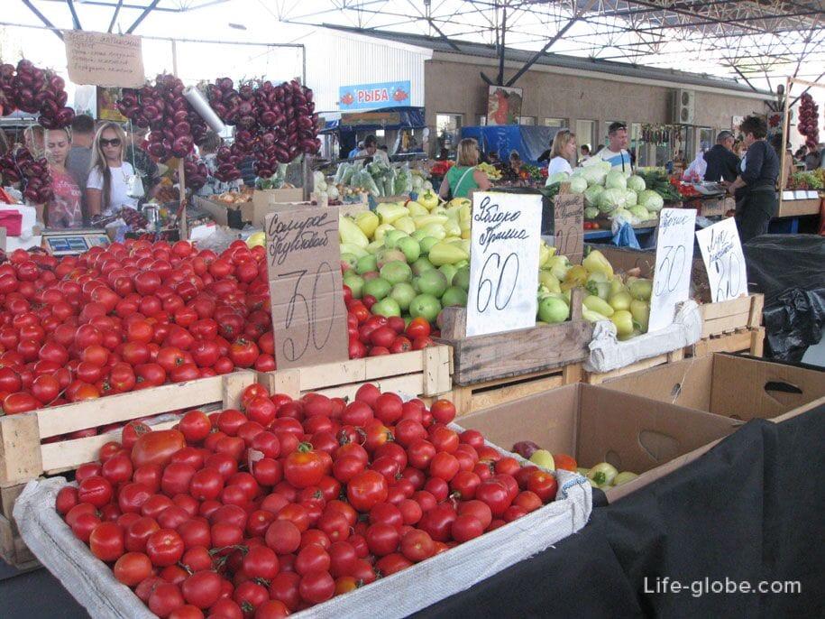 Рынок, Феодосия, Крым