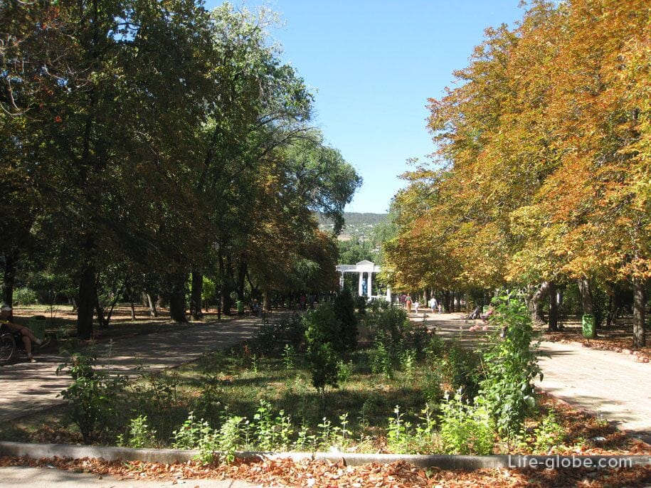 Юбилейный парк, Феодосия