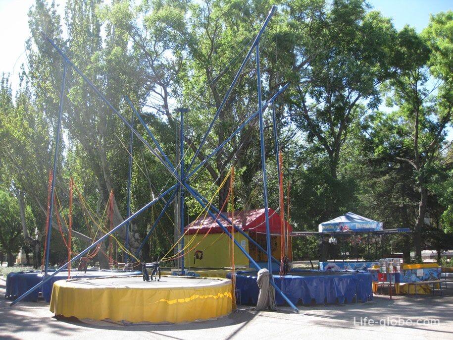 Юбилейный парк в Феодосии, Крым